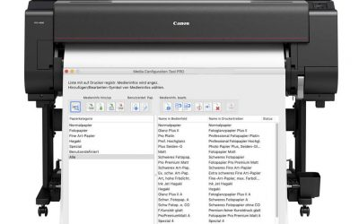 Das Canon Media Configuration Tool