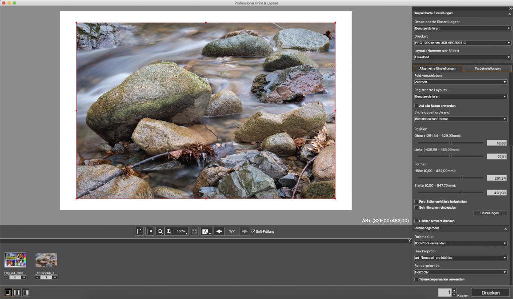 Canon Professional Print & Layout Programm
