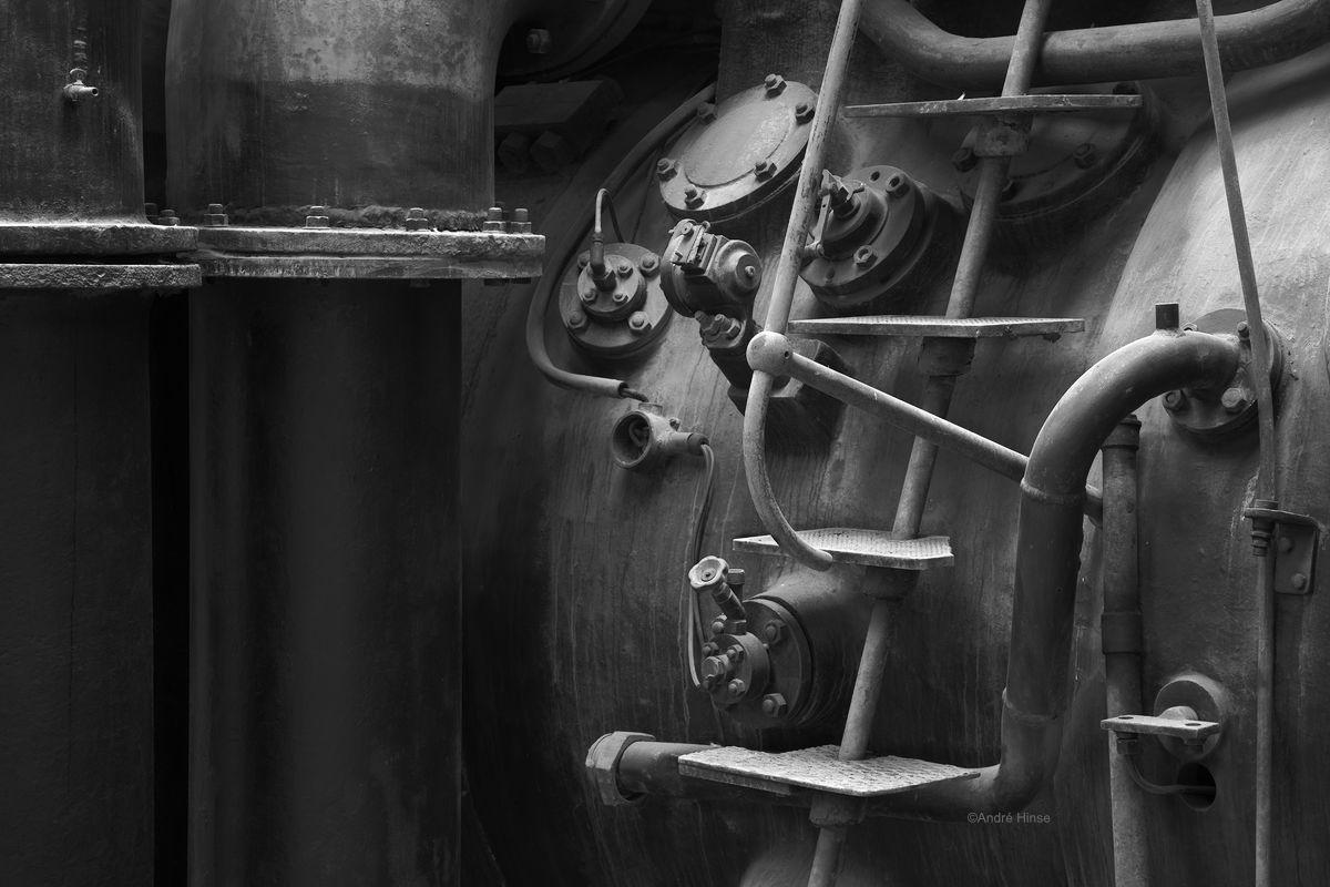 Kompressor einer Stahlhütte