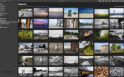 Drucken und arbeiten mit Apple Fotos