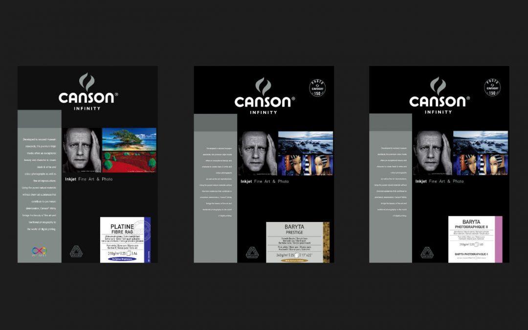 Canson Baryt Papiere im Vergleich