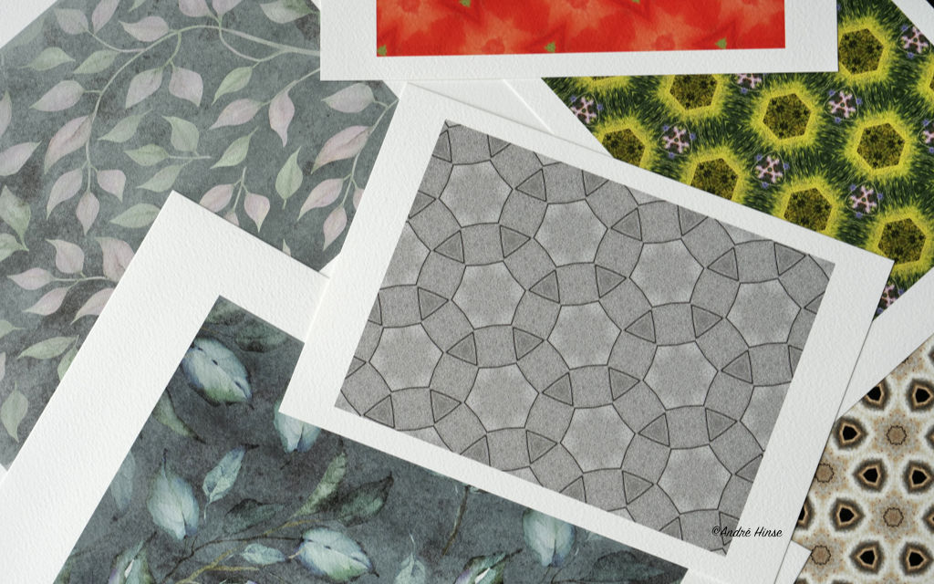 Schwarz-Weiss Druck auf Arches Aquarelle