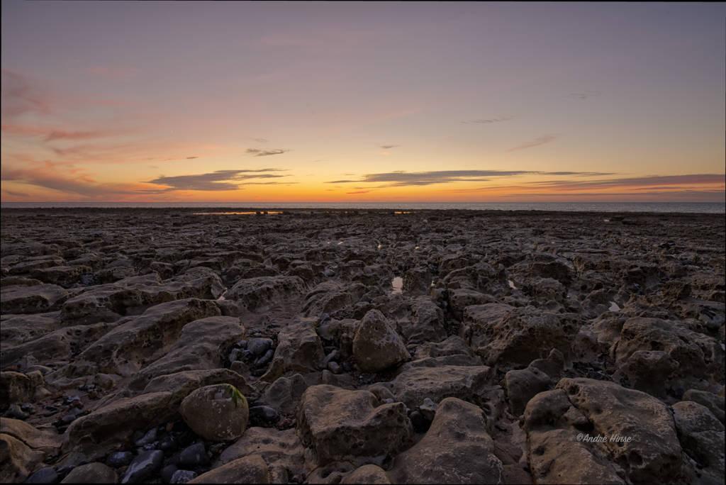 Sonnenuntergang Normandie